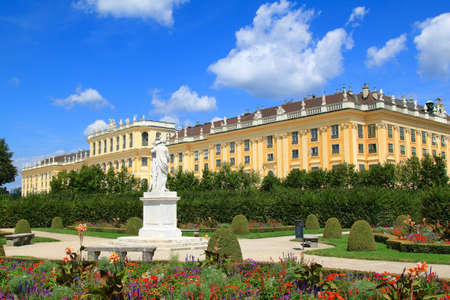 Schloss Schoenbrunn Palace, Vienna - Austria Stock Photo
