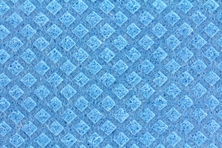 bright housekeeping: A clean texture of General Purpose Sponge Cloth in Blue Color