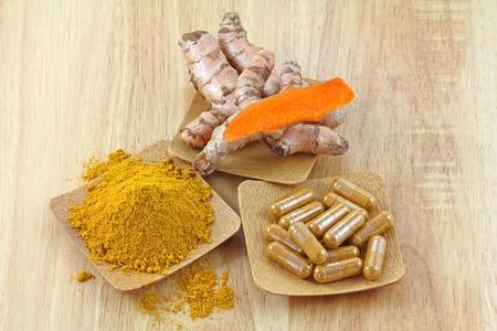 supplementary: Turmeric rhizome, powder and capsules