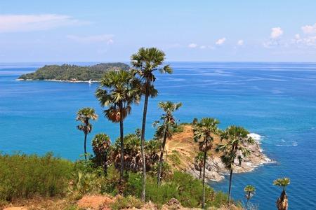 phuket province: Laem Phromthep Cape viewpoint in Phuket Province,Thailand