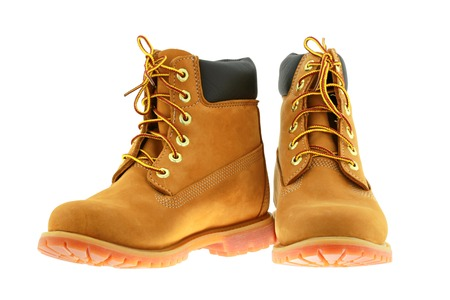 timberland: Timberland 6-Inch premium waterproof boots in Bangkok, Thailand. Timberland is a brand of an American manufacturer that focuses on outdoor wear. Editorial