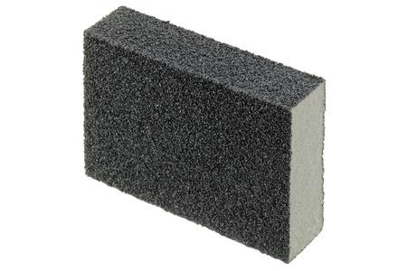 sanding block: Flexible and non absorbent sanding sponge with 2 sanding grits