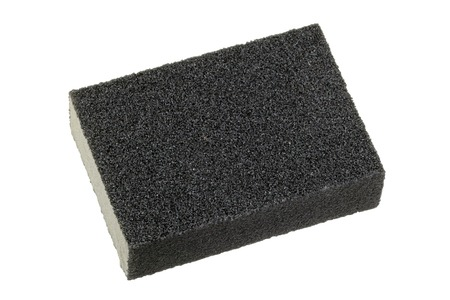sanding: Flexible and non absorbent sanding sponge with 2 sanding grits