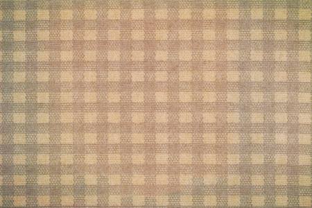 gingham: Closeup texture background photo of generic checked Gingham pattern, vintage tones