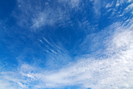 natural formation: Natural blue sky with Cirrocumulus high level Clouds formation