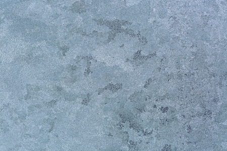 iceflower: Abstract Texture background of frost rime ice pattern on glass window during winter in Europe