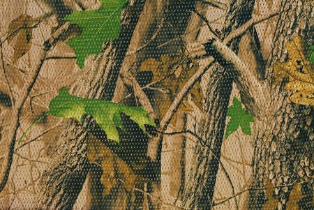 Close-up camouflage patroon voor het verbergen, vermomming. Gedetailleerde textuur van gedroogde blad