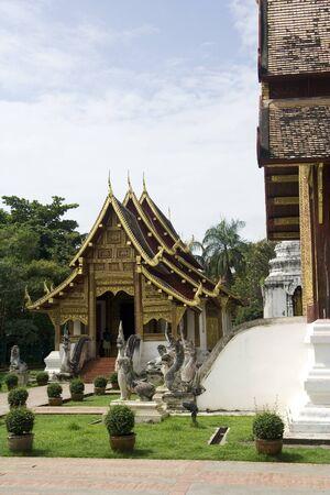 Wat PraSing ChingMai,North of Thailand Stock Photo - 8255016