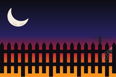 alone in the dark: The moonlight at midnight