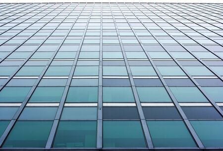 Skyscraper wall with a lot of office windows Stock Photo
