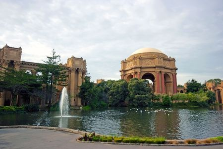 Presidio park in San Francisco, California, USA Stock Photo