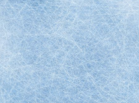 hockey ice: Digitally generated ice rink background with lines Stock Photo