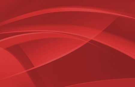 Red abstract wave background for presentation