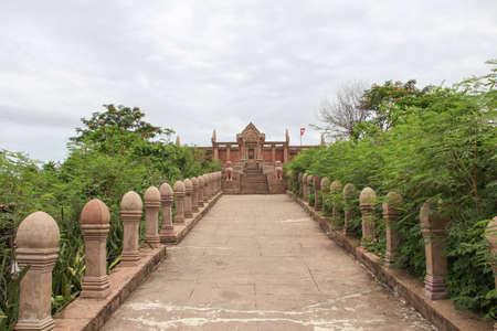 thai motifs: Preah Vihear