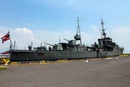 a battleship: Battleship in thailand