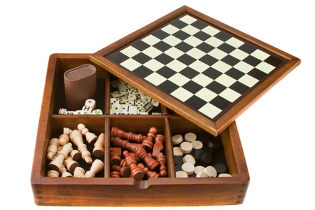 board games: Games Stock Photo
