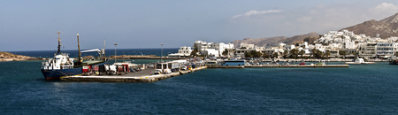 naxos: Greece,Naxos - September 18,2015: Naxos is the biggest and most fertile island of the Cyclades islands. It is located south of Mykonos and east of Paros. Editorial