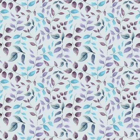 Botanical seamless pattern Background for scrapbook, design of cards, decor, textiles