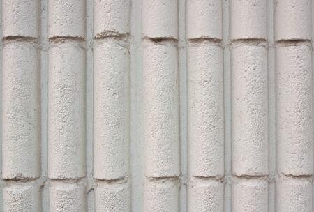 cylindrical: Primo piano, texture muro di cemento cilindrica