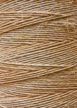 Jute rope close-up  Standard-Bild