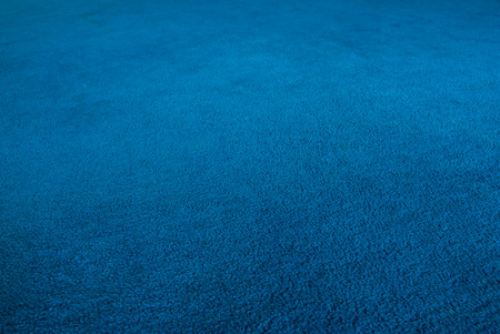 carpet color: The blue carpet,shooting angle in obliquely. Stock Photo