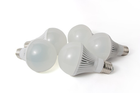 cree: LED light bulbs on a white background.