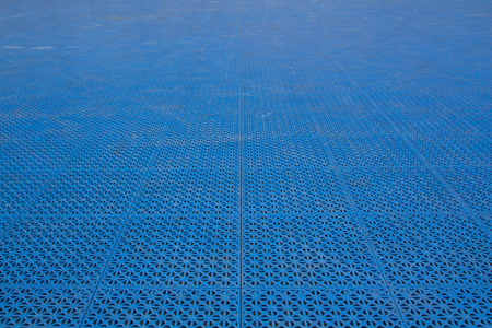 Patterned plastic to prevent slip and fall. Stock Photo