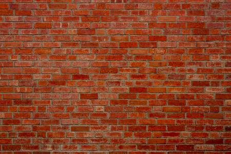 오래 된 벽돌 벽, 질감 및 배경.