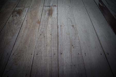 오래 된 목조 바닥, 질감 및 배경, 오블 리크 리 각도로 촬영.