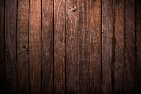Grunge wooden wall used as background, For background and texture.