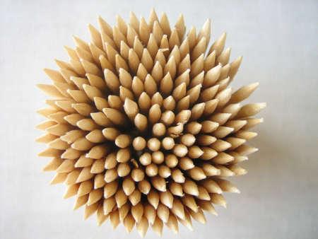 toothpick: Circle of toothpick Stock Photo