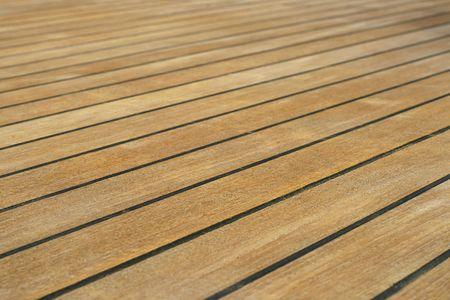 decking: Wooden decking