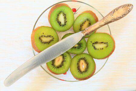 Slices of ripe sliced