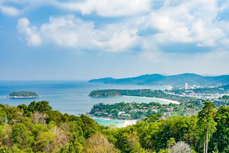 Popular beaches of Phuket - Kata Noi, Kata and far away Karon