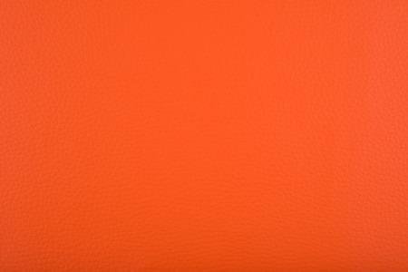 leatherette: Orange leatherette background Stock Photo