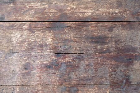 Surface of old wooden painted boards texture background