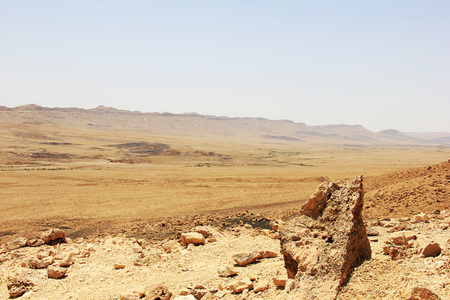 negev: Negev desert and Ramon crater in Israrel.