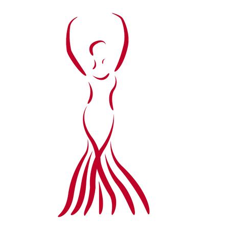 dress design model template