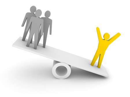 professionalism: Professionalism, competence metaphor.  Concept 3D illustration.