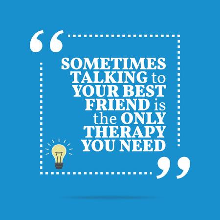 Cosa vuol dire quando si collega con il tuo migliore amico