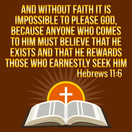 maroon: Christian motivational quote. Bible verse. Cross and shining sun - resurrection concept, symbols. Golden text over maroon background
