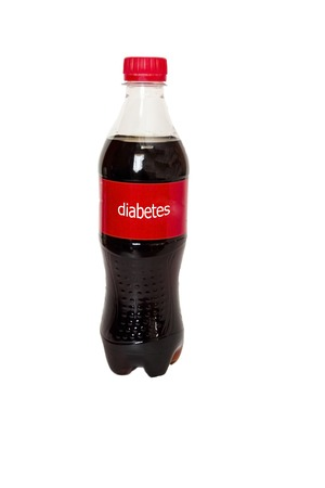 the label says the disease that arises from drinking carbonated drinks