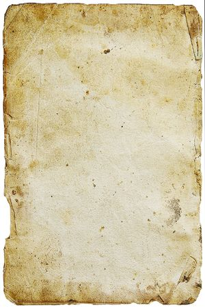 Old paper on a light background. Leaf from the religious book Stock Photo - 874063