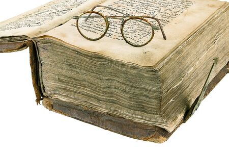 The ancient book on a light background Stock Photo - 893995