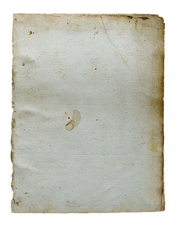 Page from the ancient book on a light background