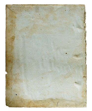Page from the ancient book on a light background photo