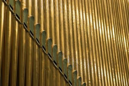 Traditional organ pipes