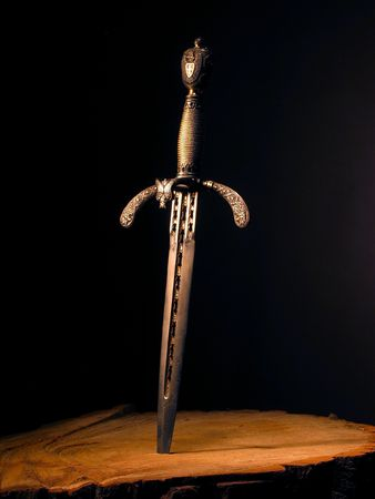 duel: Medieval dagger. It was often used by pirates