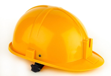 Helmet for the builder. It happens different colors photo