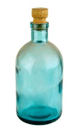 veneno frasco: Antigua botella de farmacia o perfumer�a